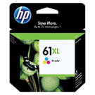 Brand New Original HP CH564WN (HP61XL) High Yield INK / INKJET Cartridge Tri-Color