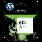 Brand New Original HP CH564WN (HP61XL) High Yield INK / INKJET Cartridge Tri-Color