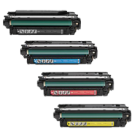 HP CM4540 Laser Toner Cartridge Set Black Cyan Yellow Magenta