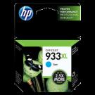 Brand New Original HP CN054AC 933XL INK / INKJET Cartridge Cyan