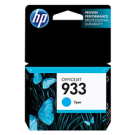 Brand New Original HP CN058AC 933 INK / INKJET Cartridge Cyan