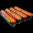 HP CP5225 Laser Toner Cartridge Set Black Cyan Yellow Magenta