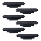 IR-72 INK ROLLER Ribbons 6-PACK Black