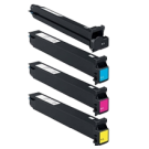 Konica Minolta C300 / C352 Laser Toner Cartridge Set Black Cyan Yellow Magenta