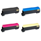 KYOCERA MITA C5300 Laser Toner Cartridge Set Black Cyan Magenta Yellow