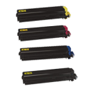 KYOCERA / MITA TK-512 Laser Toner Cartridge Set Black Cyan Yellow Magenta