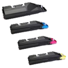 KYOCERA / MITA TK-867 Laser Toner Cartridge Set Black Yellow Magenta Cyan