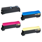 KYOCERA / MITA TK-572 Laser Toner Cartridge SET Black Cyan Yellow Magenta