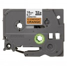 BROTHER P-Touch Label Tape TZE-B41 3/4 In. Black On Bright Orange