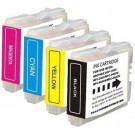 Brother LC51 Ink Cartridges Set Black Cyan Yellow Magenta