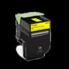 Lexmark 80C1HY0 Laser Toner Cartridge