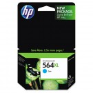 Brand New Original HP CB323WN (564XL) INK / INKJET Cartridge Cyan