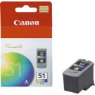 ~Brand New Original CANON CL-51 High Yield INK / INKJET Cartridge Tri-Color