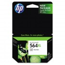 Brand New Original HP CB322WN (564XL) INK / INKJET Cartridge Photo Black NO CHIP