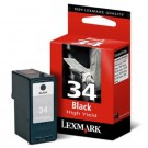 LEXMARK 18C0034 High Yield INK / INKJET Cartridge Black