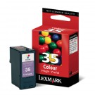 LEXMARK 18C0035 High Yield INK / INKJET Cartridge Tri-Color