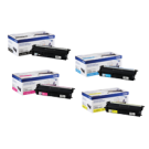 ~Brand New Original BROTHER TN-431 Laser Toner Cartridge Set Black Cyan Magenta Yellow