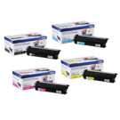 ~Brand New Original BROTHER TN-433 Laser Toner Cartridge Set High Yield Black Cyan Magenta Yellow