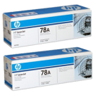 ~Brand New Original PACK of 2 - HP CE278D Laser Toner Cartridge (Dual Pack)