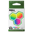 ~Brand New Original OEM-DELL UK852 Series 15 INK / INKJET Cartridge Color