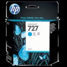 Brand New Original HP B3P13A (727) Ink/Inkjet Cartridge Cyan (40 ML)