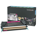 Brand New Original LEXMARK C746A1MG Laser Toner Cartridge Magenta