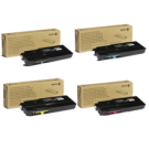 ~Brand New Original XEROX C400 / C405 High Yield Laser Toner Cartridge Set Black Cyan Magenta Yellow
