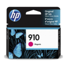 Brand New Original HP OEM0-3YL59AN (910) Magenta Ink / Inkjet Cartridge