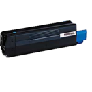OKIDATA 42127403 Laser Toner Cartridge Cyan High Yield