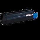 OKIDATA 42127403 Laser Toner Cartridge Cyan High Yield
