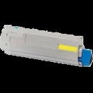 Okidata 44844509 Laser Toner Cartridge Yellow