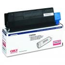OKIDATA 43034802 Laser Toner Cartridge Magenta