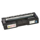 RICOH 407654 (C252HA) Laser Toner Cartridge Cyan