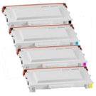 Ricoh SPC210 (Type 140) Laser Toner Cartridge Set Black Cyan Magenta Yellow