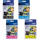 Brother LC75 High Yield Ink Cartridge