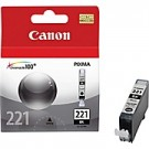 Original CANON CLI-221BK INK / INKJET Cartridge Black