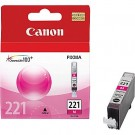 Original CANON CLI-221M INK / INKJET Cartridge Magenta