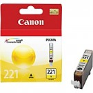 Original CANON CLI-221Y INK / INKJET Cartridge Yellow