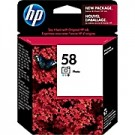 Brand New Original HP C6658A (58) INK / INKJET Cartridge Photo