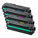SAMSUNG C2620 / C2670 Laser Toner Cartridge Set Black Yellow Cyan Magenta