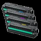 SAMSUNG C2620 / C2670 Laser Toner Cartridge Set Black Yellow Cyan Magenta