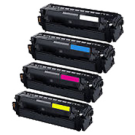 Compatible For SAMSUNG CLT-503L High Yield Laser Toner Cartridge Set Black Cyan Yellow Magenta
