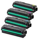 SAMSUNG CLP-680 Laser Toner Cartridge Set Black Cyan Yellow Magenta