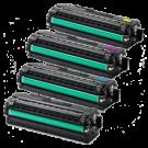 SAMSUNG CLP-680 Laser Toner Cartridge Set Black Cyan Yellow Magenta