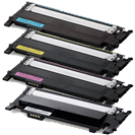 SAMSUNG CLT-406S Laser Toner Cartridge SET Black Cyan Yellow Magenta