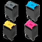 SHARP MX-C30 Laser Toner Cartridge Set Black Cyan Magenta Yellow
