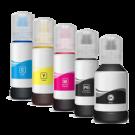 Epson T512 Set INK Bottle Dye Set + Photo Black