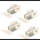 ~Brand New Original TOSHIBA Staple-3100 Saddle Stitch Staples 4 Per Box