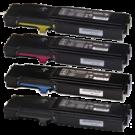 XEROX 6600 / 6605 High Yield Laser Toner Cartridge Set Black Cyan Magenta Yellow