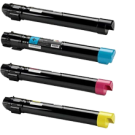 XEROX 7800 Laser Toner Cartridge Set Black Cyan Yellow Magenta High Yield